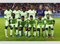 Sevilla 13 Manchester City Raheem Sterling nets first