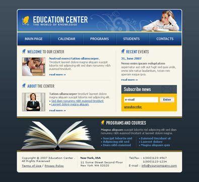 school collage university sample   website