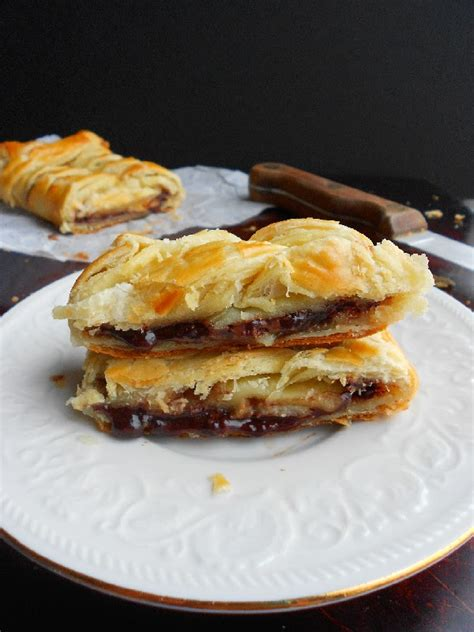 nutella banana puff pastry braid confessions of a confectionista