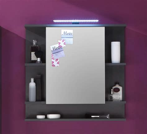 Badezimmer Spiegelschrank Grau by Spiegelschrank Tetis Grau G 252 Nstig Kaufen