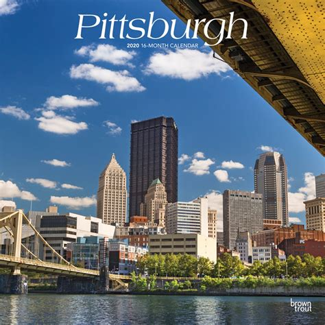 pittsburgh monthly square wall calendar usa united