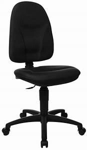 Topstar Chaise De Bureau Home Chair 50 Noir DreamLand