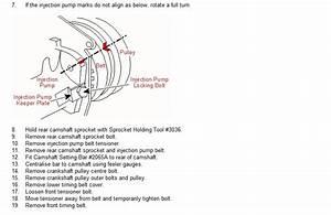 Timing Belt Replacement Information For Transporter 2 5tdi
