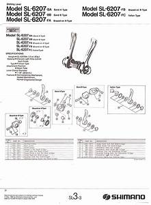 Need Help Putting Shimano 600 Friction Shifters Back