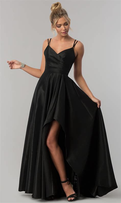 Black Long Formal Prom Dresses
