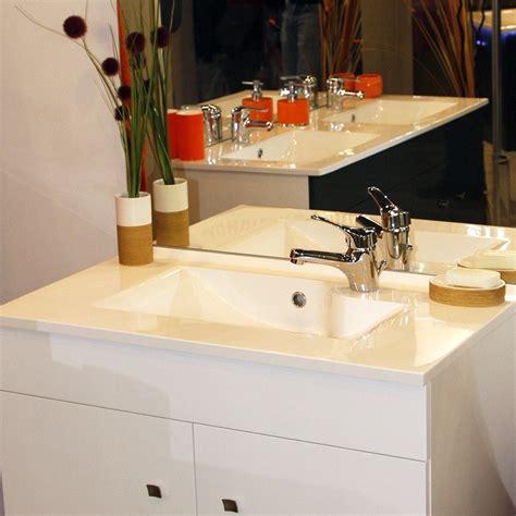 plan simple vasque design r 201 siloge 80 cm cuisibane