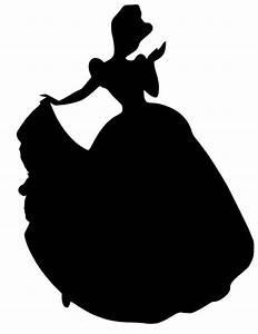 Cinderella Silhouette Vinyl Decal. $5.00, via Etsy. | kp ...