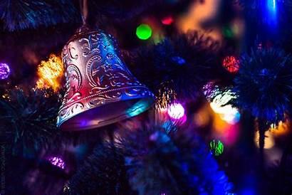Christmas Ornaments Bokeh Macro Desktop Wallpapers Backgrounds