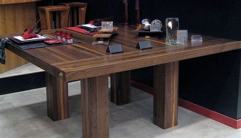 table de cuisine carr馥 tables en bois massif signature stéphane dion