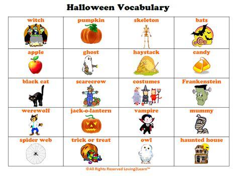 Halloween English Vocabulary Lesson  With Video  Wellington House Idiomas