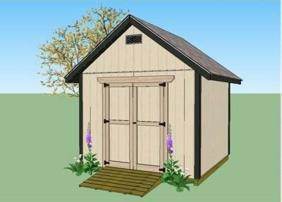 10x10 Shed Plans With Loft by 10x10 Gable Shed Plans