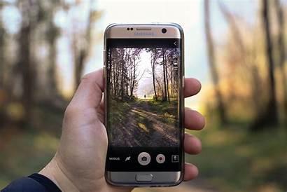 Smartphone Kamera Denen Vier Situationen Fotografie Wahl