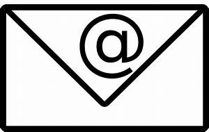 Email Address Icon  U00b7 Free Vector Graphic On Pixabay
