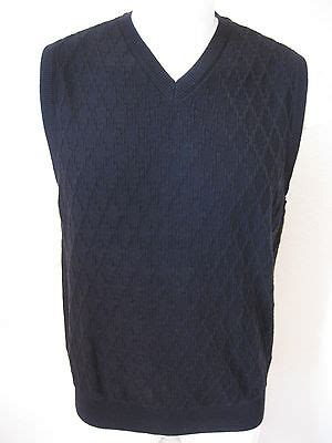 mens sweater vest  tasso elba black classic woven