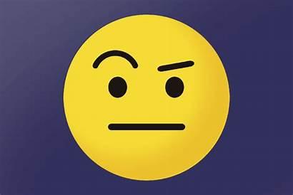 Emoji Makeup Eyebrow Eyebrows Raising Eye Confusing