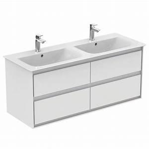 product details e0822 meuble pour lavabo plan double With meuble lavabo double