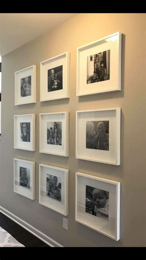 ribba ikea frames     square pictures