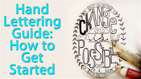 hand lettering  step  step guide  layouts youtube