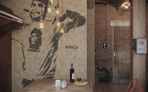 Eclectic Bachelor Retreat by Home Apartment Charming Stencil Wall In Bachelor