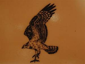 Eagle Landing Tattoo