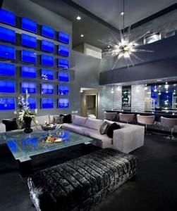 10 Fascinating High Ceiling Living Rooms with Chandelier