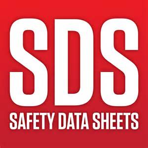 SDS Safety Data Sheet Cover