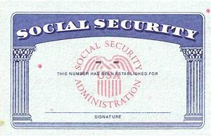 social security card template cyberuse With make a social security card template