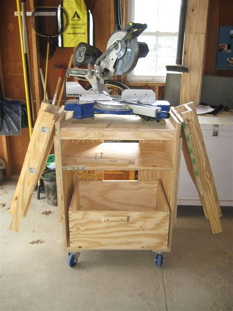 table saw workbench woodworking plans miter saw station rolling table woodworking and wood