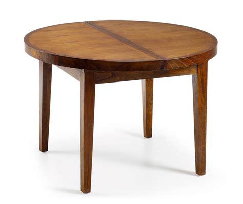 table de cuisine ronde en bois table ronde en bois avec rallonge portefeuille intégré