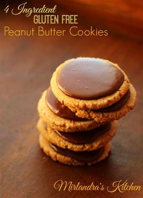 Kitchen Bouquet Ingredients Gluten Free by 4 Ingredient Gluten Free Peanut Butter Cookies Mirlandra