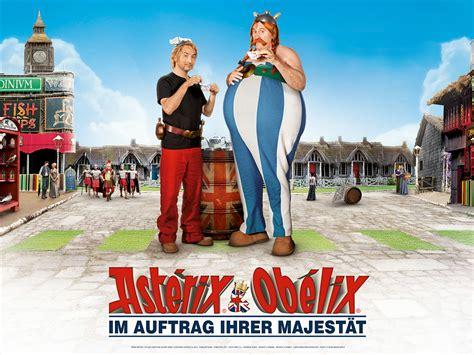 asterix obelix im auftrag ihrer majestaet dvd blu ray