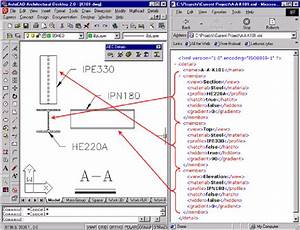 Sample Drawing And Xml File The Name Of The Xml File Is