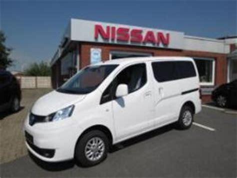 nissan nv200 benzin nissan nv200 deutschland gebrauchtwagen gebraucht kaufen