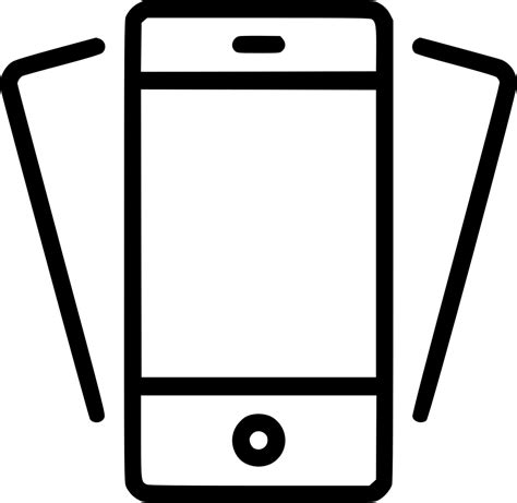 smartphone icon vector png tilt phone smartphone mobile device iphone svg png icon