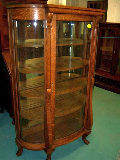 Curved Glass Curio Cabinet By Chintaly by Rk343 3l Jpg 55