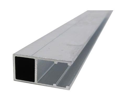 profil bordure monobloc en u toiture polycarbonate coloris aluminium epaisseur 16 mm