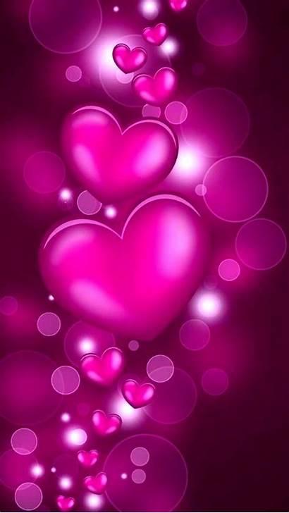 Heart Phone Flower Pink Desktop Background Cellphone