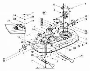 Cub Cadet 1045 Mower Deck Belt Diagrams
