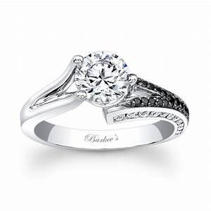 barkev39s black white diamond engagement ring 7873lbk With black and white diamond wedding ring