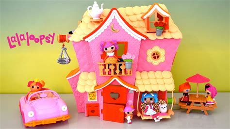 Lalaloopsy House - lalaloopsy dollhouse sew sweet playhouse cruiser