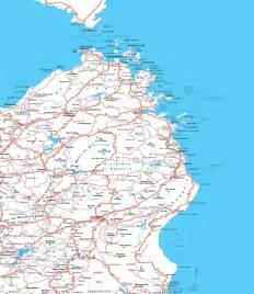 Sardinia Italy Road Map
