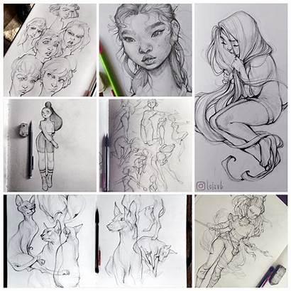 Loish Sketchbook Imaginefx Aloy Deviantart Horizon Dawn