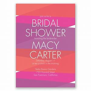 crazy for color bridal shower invitation invitations by dawn With crazy wedding invitations ideas