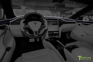 Tesla Model S Custom Interior Program - T Sportline - Tesla Model S, 3, X & Y Accessories