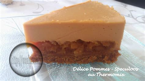 d 233 lice pommes speculoos au thermomix cook time