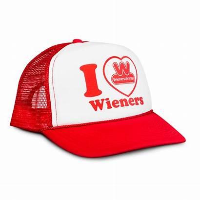 Wienerschnitzel Hat Heart Trucker Wieners Hats Wiener