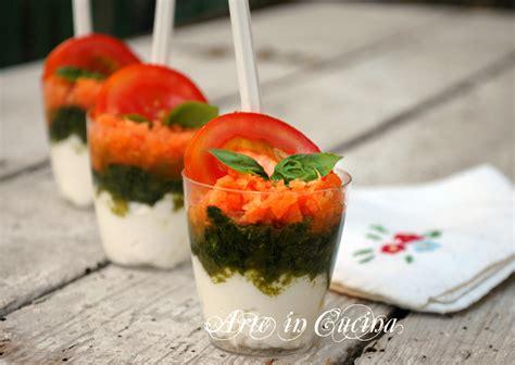 bicchieri per finger food bicchierini finger food salati ricetta facile