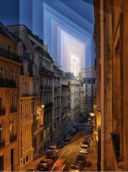 Qi Fong Wei Slice Alley Sunset Parisian