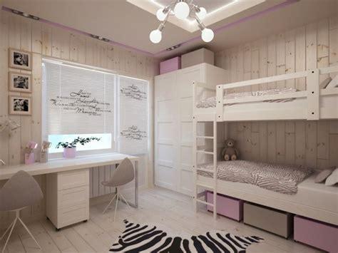 Kinderzimmer Ideen Für Zwei by Einrichtung In Wei 223 Und Rosa Kinderzimmer F 252 R Zwei