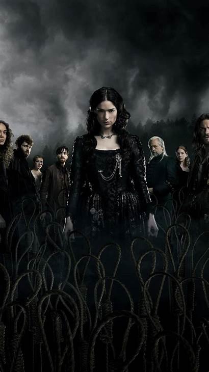 Salem Season Poster Fernsehserie Serie Bruxas Netflix